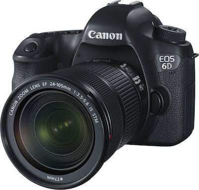Canon EOS 6D Kit (24-105mm IS STM) Black