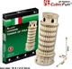 Leaning Tower (ltaly) 8pcs Cubic Fun