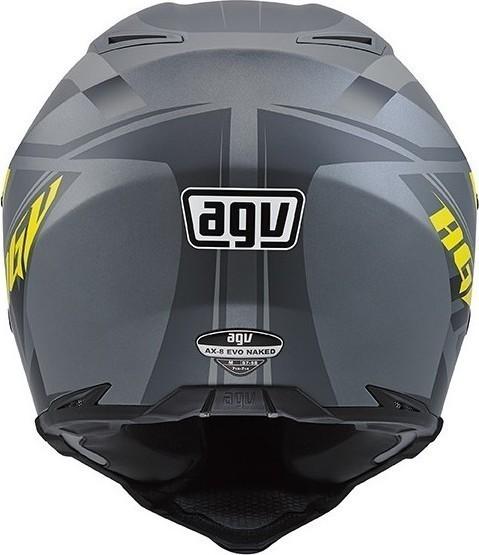AGV AX-8 Evo Naked Karakum Full Face Helmet | 912-374 | J