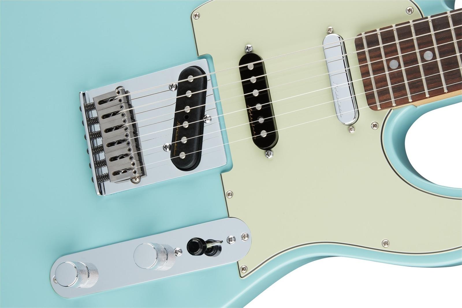 Fender Deluxe Nashville Tele Daphne Blue
