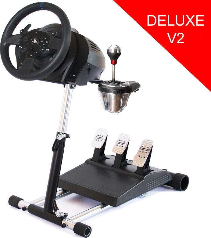 wheel stand pro wheel stand pro deluxe v2 for thrustmaster. Black Bedroom Furniture Sets. Home Design Ideas