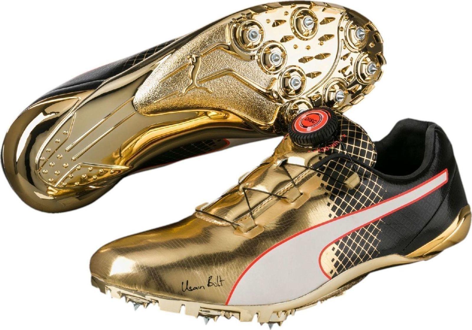 Puma Usain Bolt Evospeed Disc Tricks Spikes 189321-01 ...