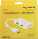 DeLock DisplayPort male - DVI-D/HDMI/VGA female (62655)