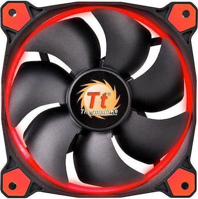 Thermaltake Riing 12 High Static Pressure Red 120mm (3 Fans Pack)