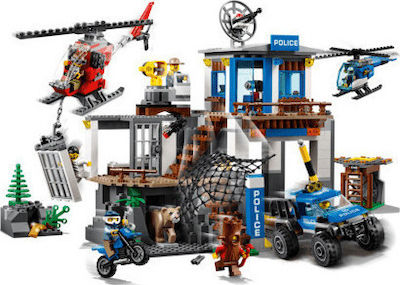 Lego City: Mountain Police Headquarters 60174