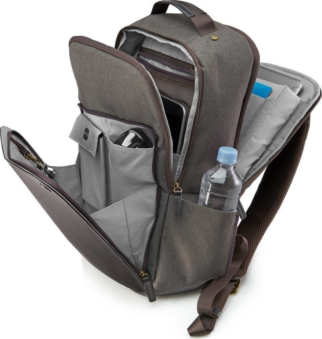 HP Executive Brown Backpack 15.6