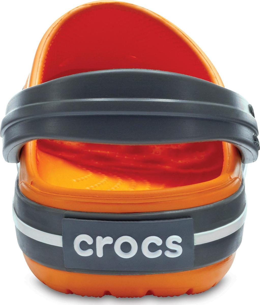 Crocs Crocband Kids Blazing Orange Slate Grey 204537-82N - Skroutz.gr 9b4fa59f895