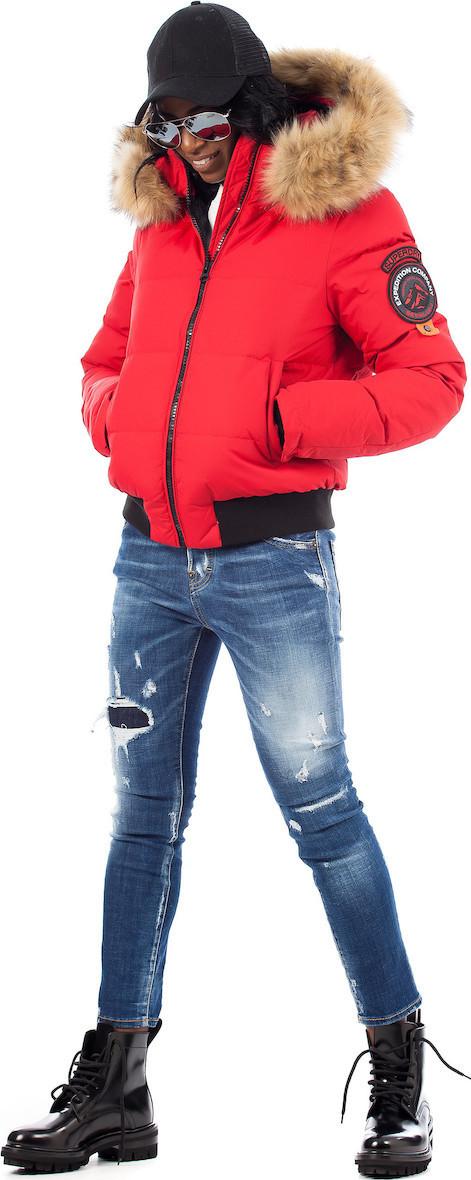 Superdry Everest Ella Red - Skroutz.gr 039543e7958