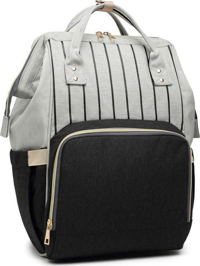 33dddbdfee56b Miss Lulu Multi Function Baby Diaper Changing Backpack E6814 Black ...