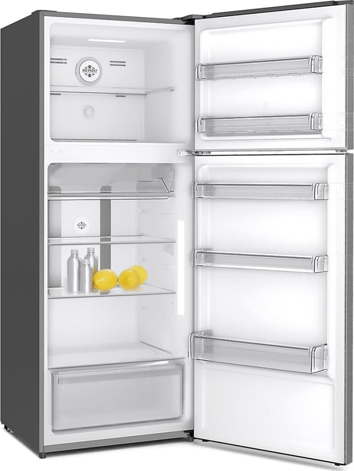 Philco Ψυγείο Δίπορτο NoFrost Inox A+ PRF 370X
