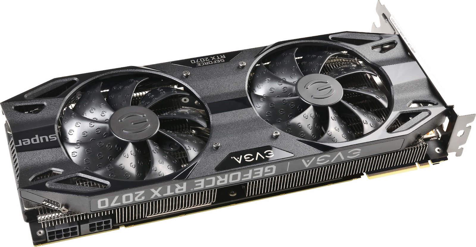 EVGA GeForce RTX 2070 Super 8GB Black Gaming (08G-P4-3071-KR)