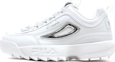 Fila Sneakers Disruptor Metallic Accent Silver