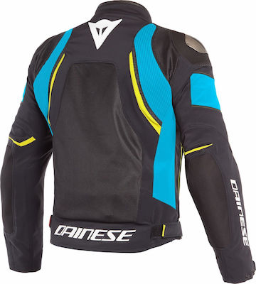 Dainese Dinamica Air D-Dry Black/Fire-Blue/Fluo-Yellow