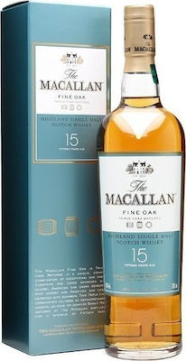 Macallan 15 Fine Oak Ουίσκι 700ml