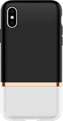 Spigen La Manon Jupe Back Cover Milk Black (iPhone X / Xs)