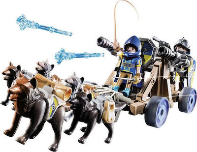 Playmobil Novel More: Wolf Team and Water Cannon