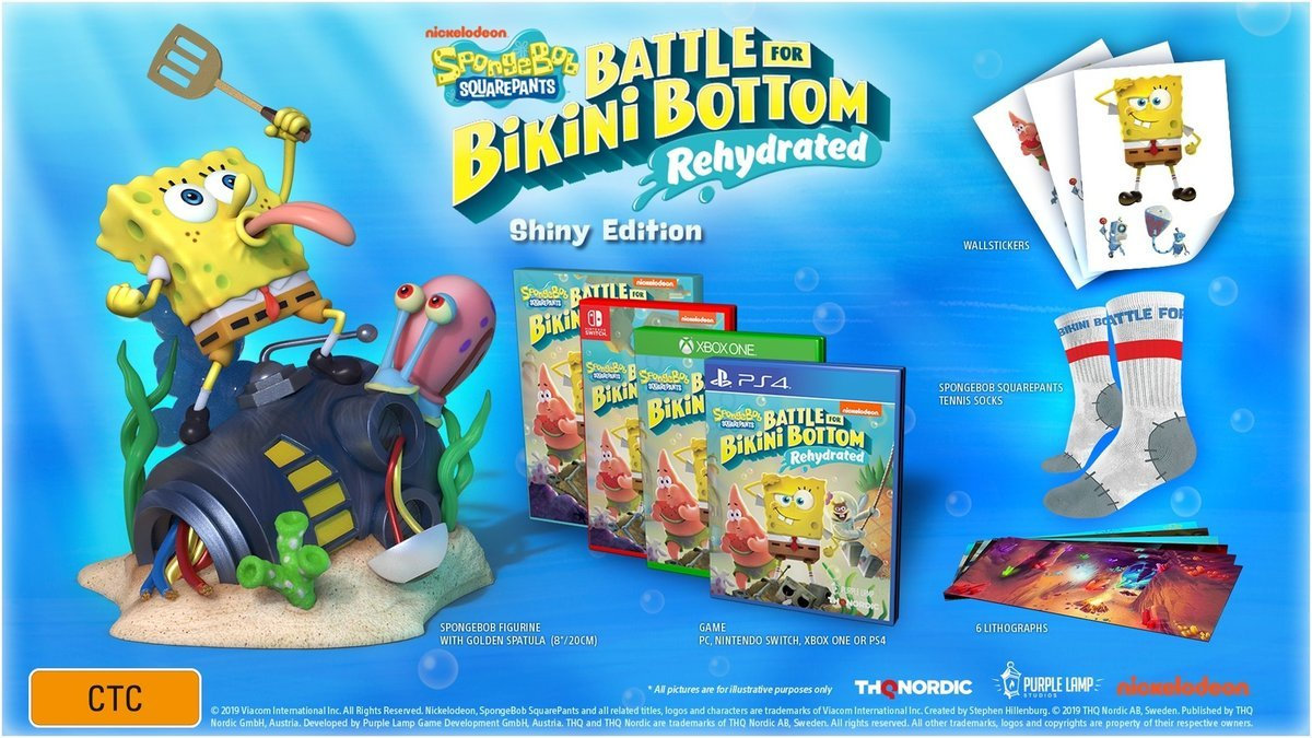 SpongeBob SquarePants: Battle for Bikini Bottom - Rehydrated ...