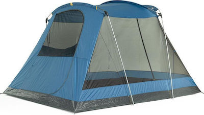 OZtrail Family Dome 4 Plus Blue