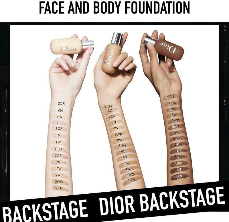 Dior Backstage Face & Body Foundation 2W Warm 50ml ...