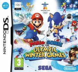 Mario Sonic At The Olympic Winter Games DS