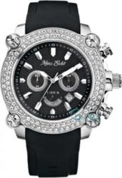 Marc Ecko Chrono Black Rubber Strap - E20048G1