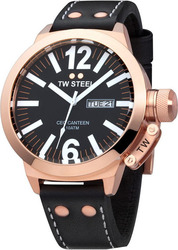 TW Steel Ceo Collection Black Leather Strap XL CE1022