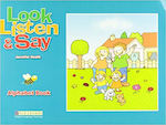 Look,Listen and Say Alphabet Book Pupils & Cd