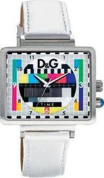 Dolce & Gabbana Medicine Man Watch White Lether Strap