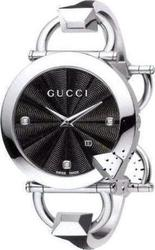 Gucci Chiodo Black Diamond Dial YA122507