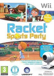 Racket Sports Party (w/Camera) Wii