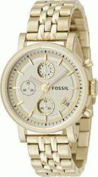 Fossil Womens Gold With Chronograph ES2197