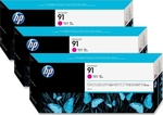 HP 91 Magenta 775ml 3-pack (C9484A)