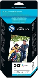 HP 343 Series Photo Starter Pack (Q7948EE)