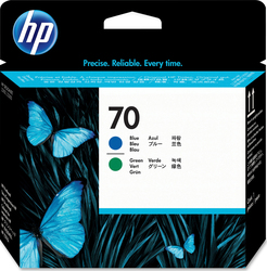 HP 70 Blue/Green Printhead (C9408A)