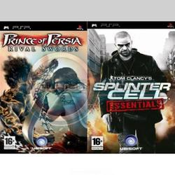 Splinter Cell Essentials & Prince Of Persia Rival Swords PSP