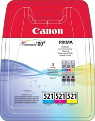 Canon CLI-521 C/M/Y Multipack (2934B007)