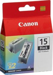 Canon BCI-15 Black Twin Pack (8190A002)