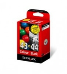 Lexmark Twin-Pack 44XL, 43XL Black and Colour