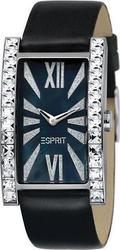 Esprit Delicate Roman Black Leather Strap Ladies ES101362001
