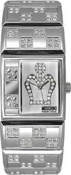 Moschino Love MW0024 Queen I Bracelet Steel Stainless Time Ladies 'I Queen' Watch