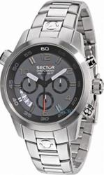 Sector Man Oversize Black,Grey Dial - R3273702025