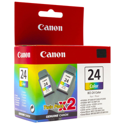 Canon BCI-24 Color Twin Pack (6882A009)