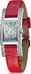 Just Cavalli Style Red Leather Strap Crystal Ladies R7251183545