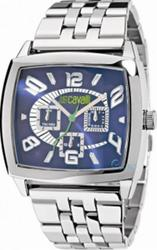 Just Cavalli Screen Stainless Steel Bracelet Blue Dial R7253625035