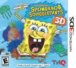 SpongeBob Squigglepants 3D 3DS