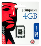 Kingston microSDHC 4GB Class 4