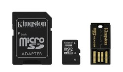Kingston microSDHC 16GB Class 4 Mobility Kit