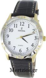 Festina Classic Black Leather Strap F163721