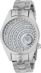 Fossil Crystal Lady White Dial Stainless Steel Bracelet ES2043