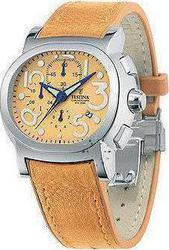 Festina Mambo Light Brown Leather Strap F161255